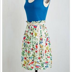 Cute and colorful bird dress